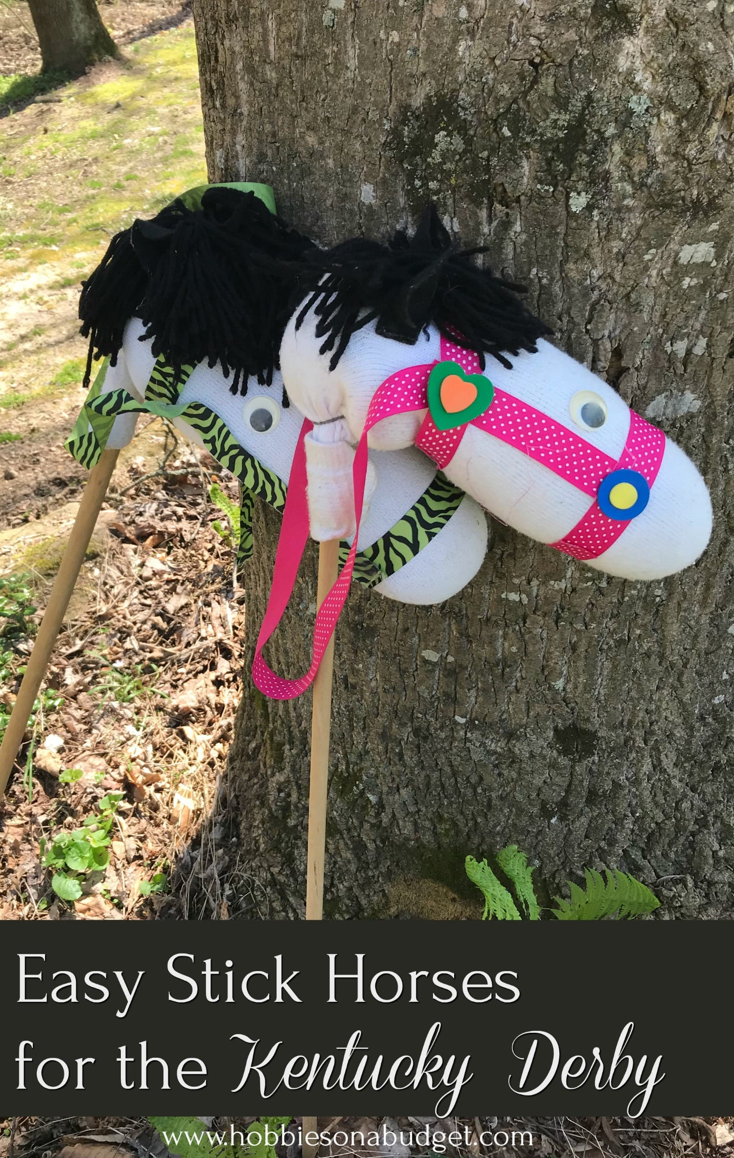stick horses for Kentucky Derby