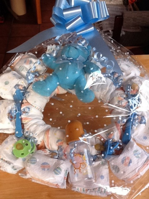 How To Make Fancy Diaper Cakes