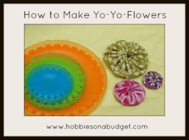 How to Make Yo Yo Flowers