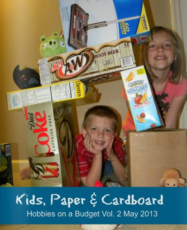 Kids, Paper and Cardboard