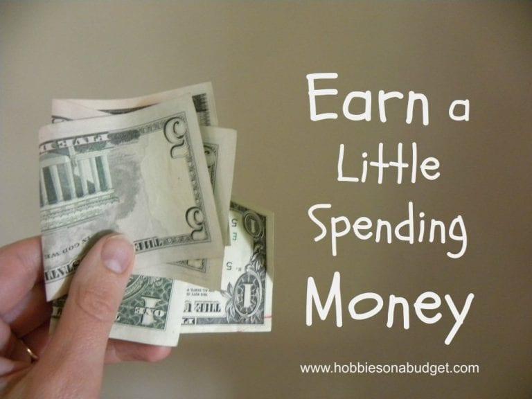 Earn a Little Spending Money