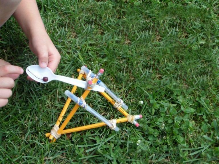 How to Make a Homemade Catapult