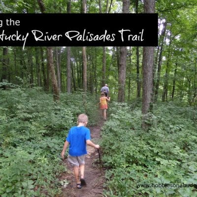 Hiking the Kentucky River Palisades Trail