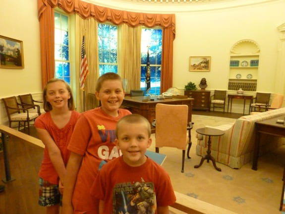 Visiting the Carter Oval Office