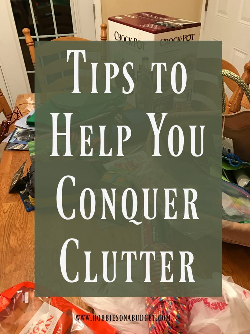 Tips to Help You Conquer Clutter