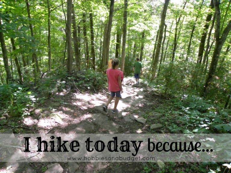 I Hike Today Because