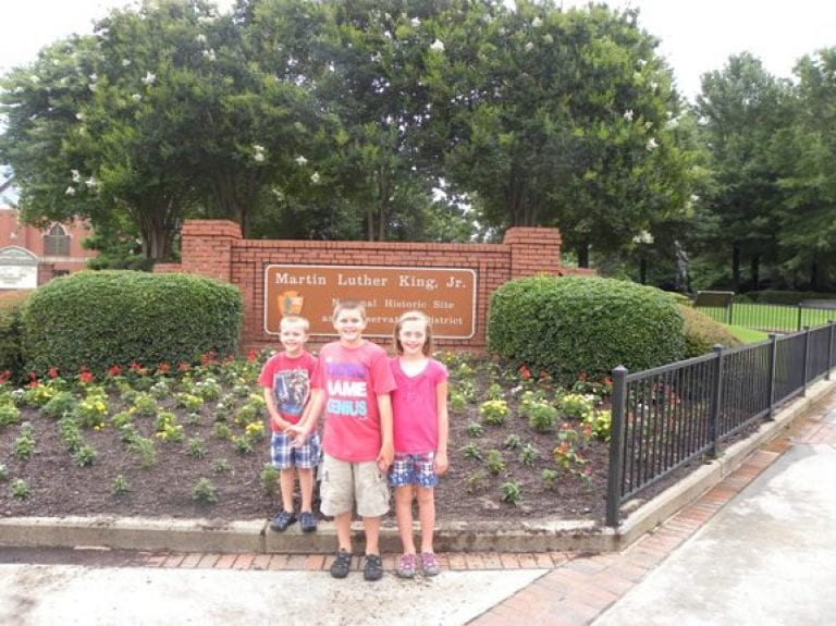 Visiting the Martin Luther King Jr Historic Site