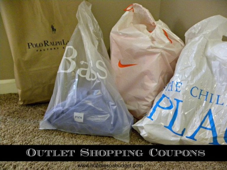 Outlet Shopping Coupons