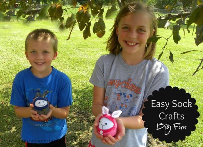 easy sock crafts big fun
