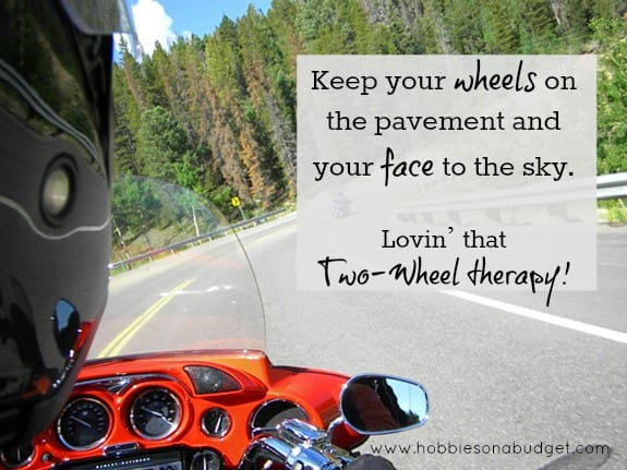 keep your wheels on the pavement