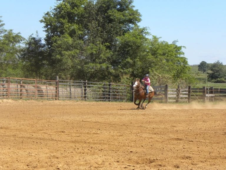 Our First Barrel Race