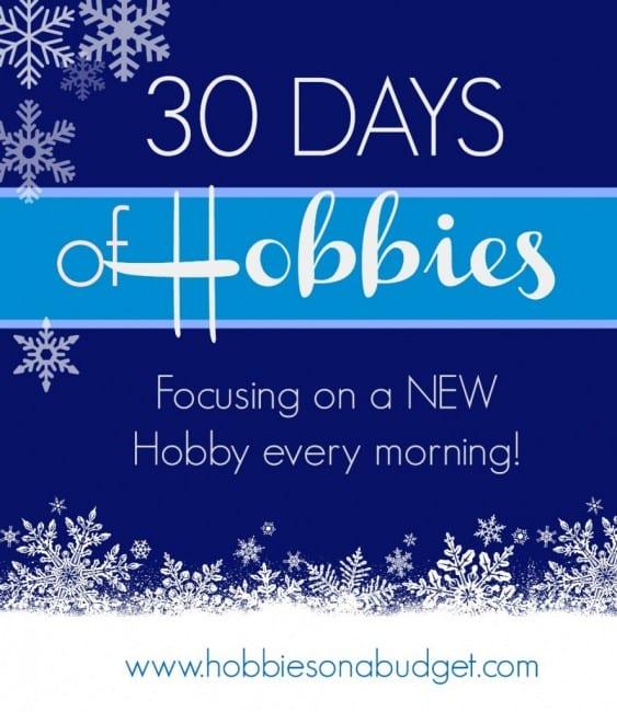 #30DaysofHobbies