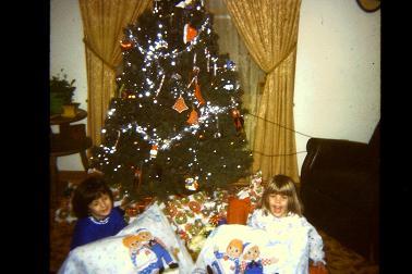 Sharon and Sister 1977
