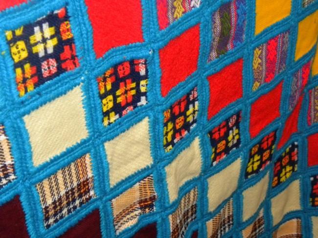 blue squares quilt 2