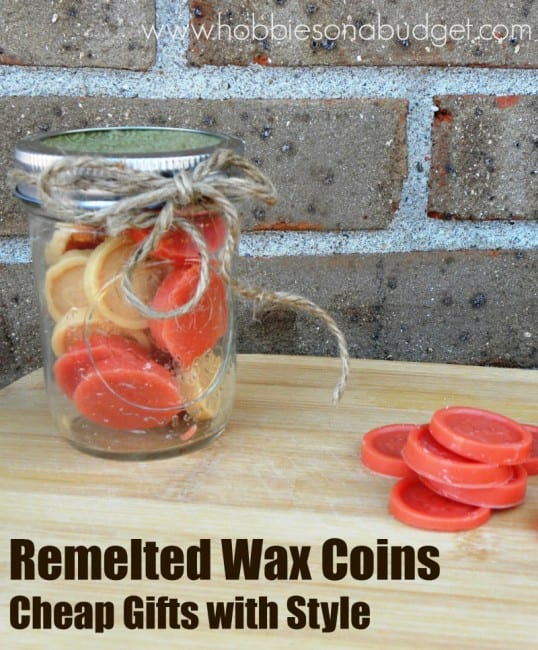 remelted wax coins