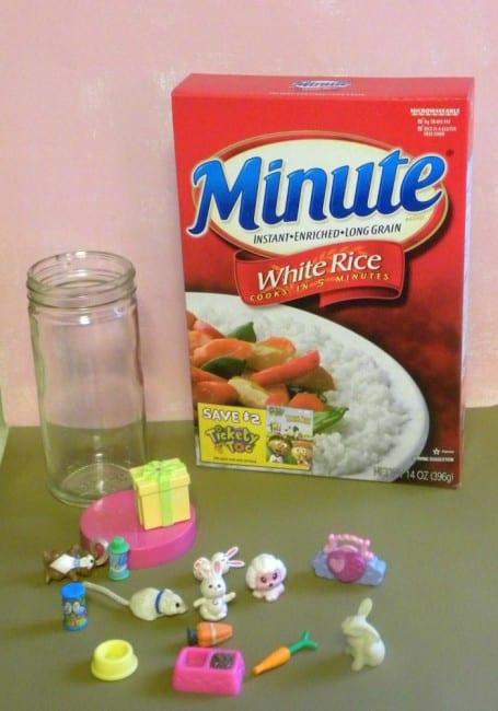 rice hide and seek jar