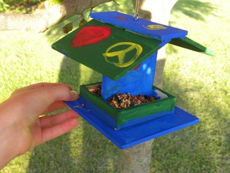 Building BirdFeeders for Summer