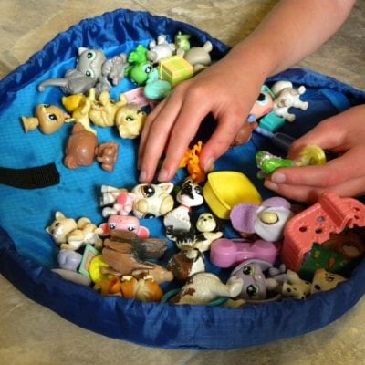 Take your Toys Anywhere – Lay n Go Lite