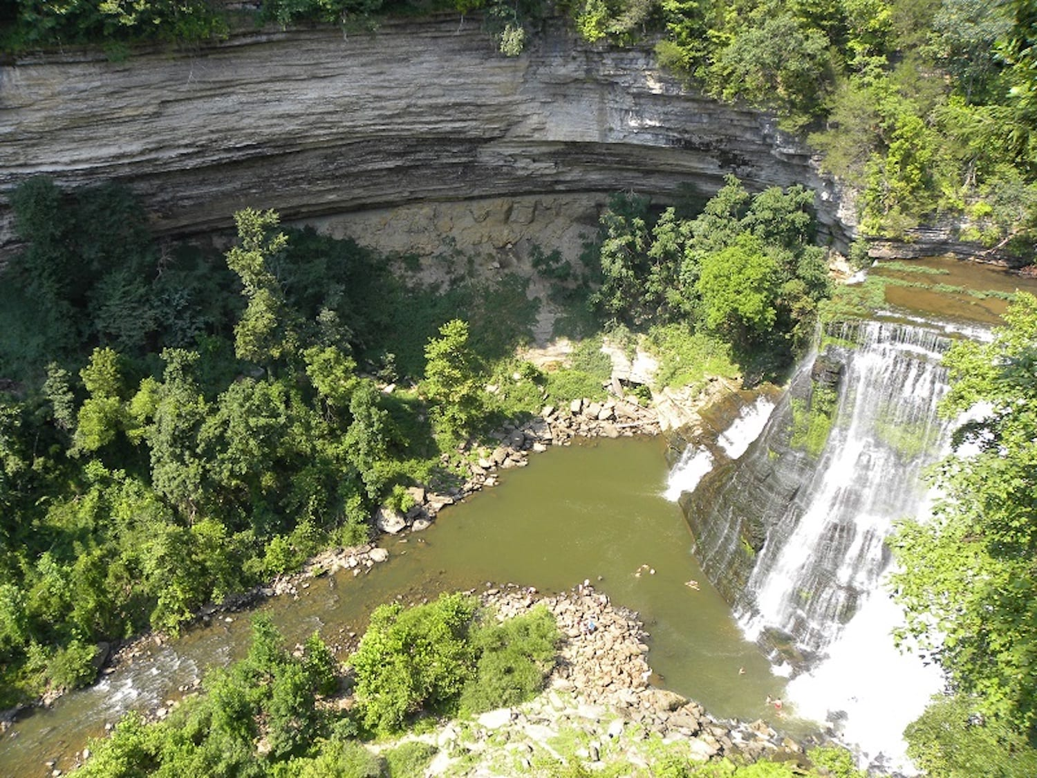 Burgess Falls Cookeville Tennessee