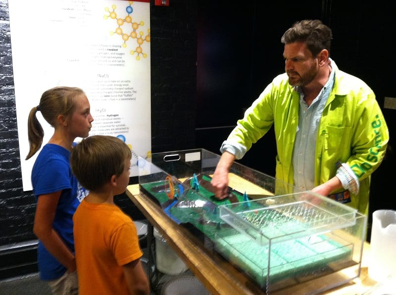 science center learning