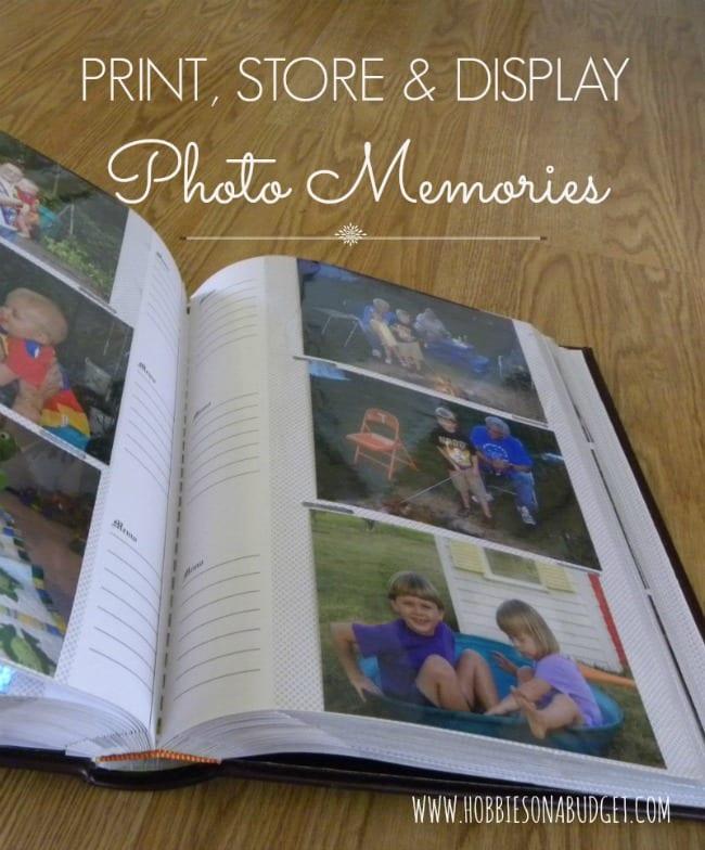 Print, Store & Display Photo Memories
