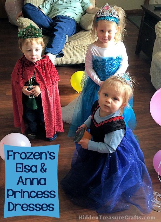 SHARON - 1-Frozens-Elsa-and-Anna-Princess-Dresses