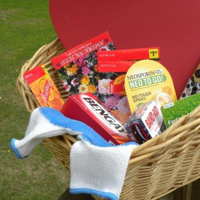 How to Build a Gardener's First Aid Kit