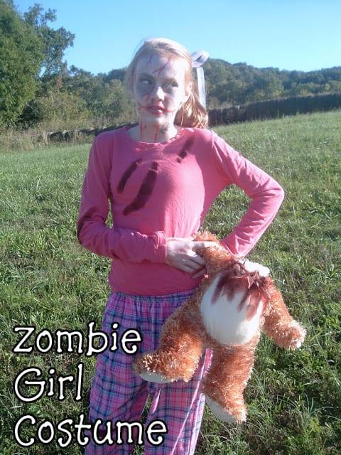 SHARON - zombie girl