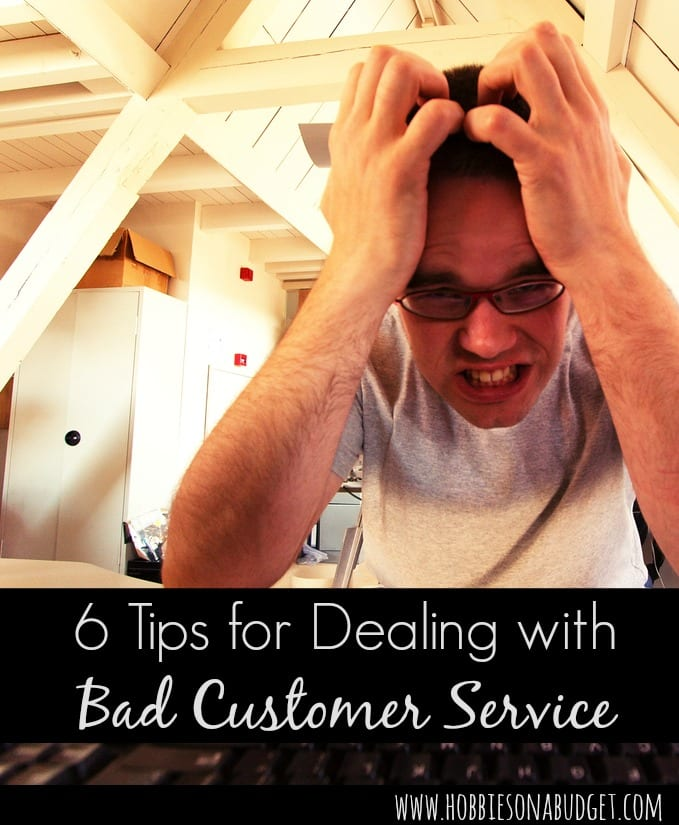 6 tips for dealing with bad customer service
