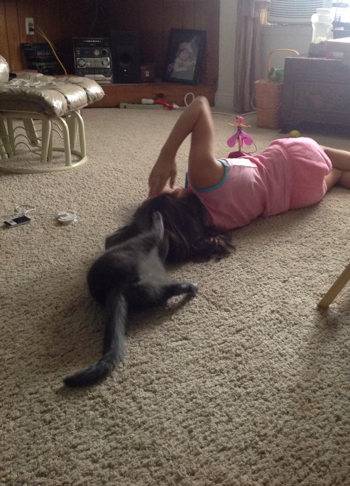 cat and lianna