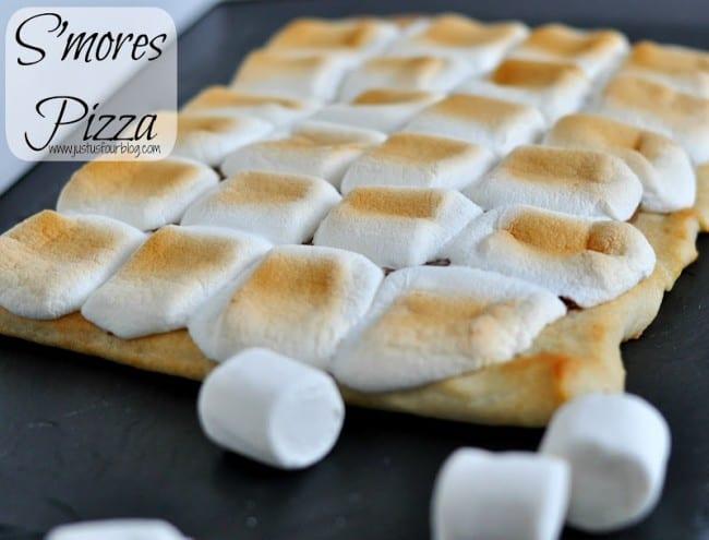 smores pizza