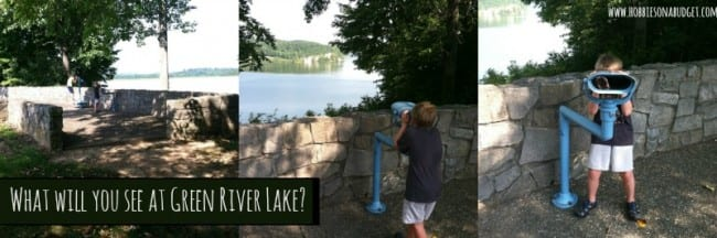 what will you see at green river lake