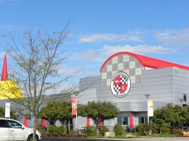 Corvette Factory & Museum in Bowling Green, Kentucky