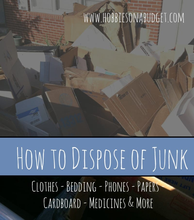 How to Dispose of Junk