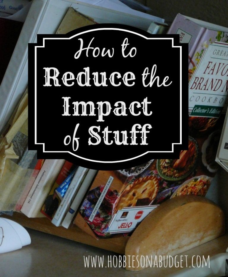 How to Reduce the Impact of Stuff