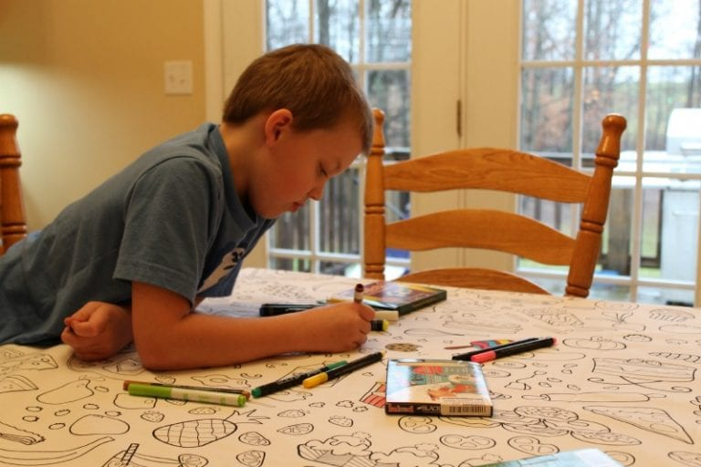 The Coloring Table that Creates Memories