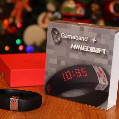 Portable Minecraft™ with the Gameband