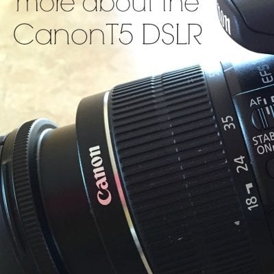 Learning More about the Canon T5