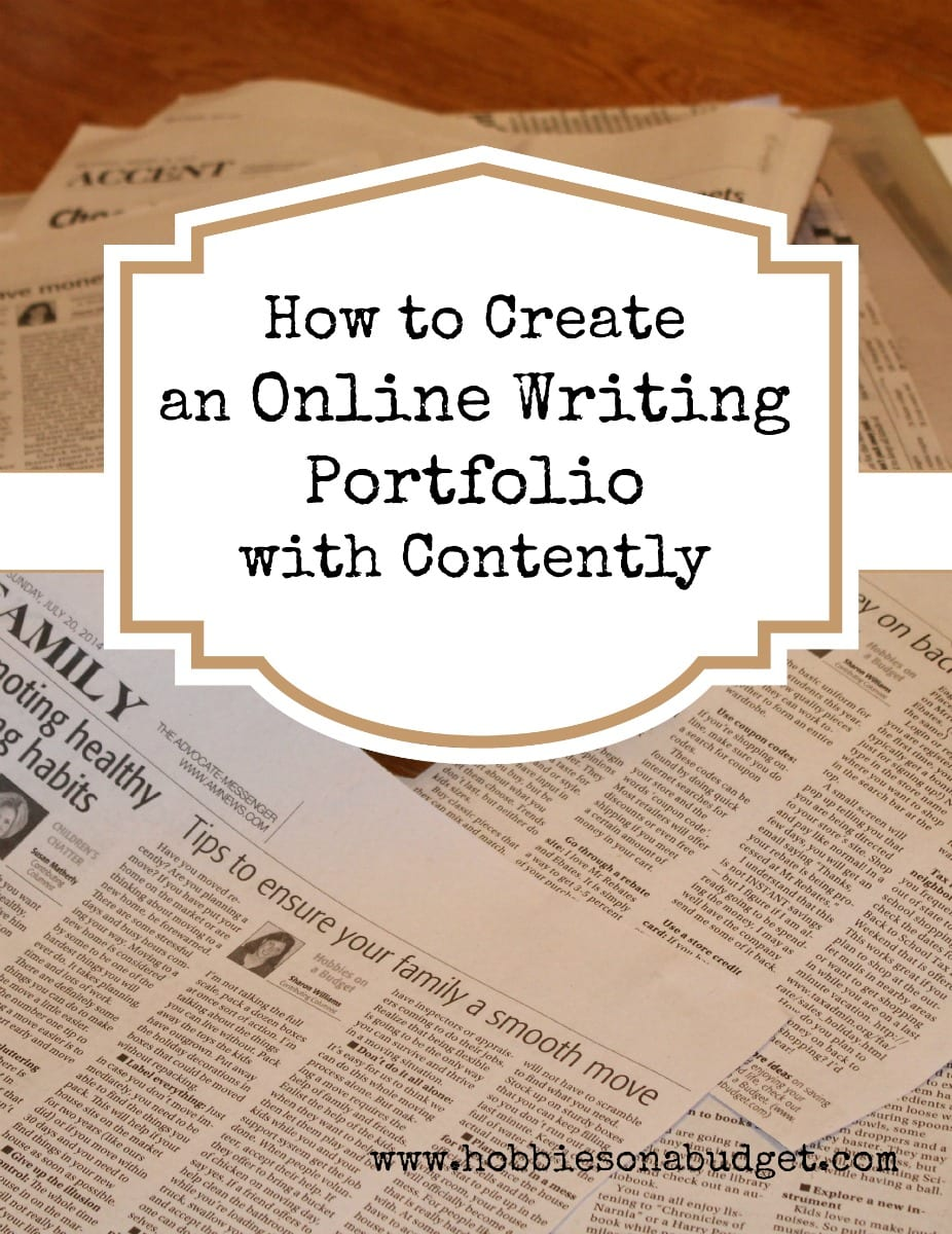 How to Create an Online Writing Portfolio with Contently
