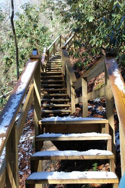 steps on trail_tn