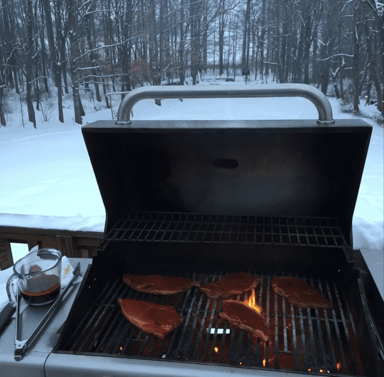 cook on grill