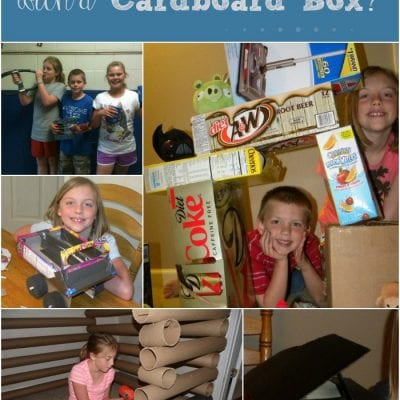 5 Things to Make out of Cardboard