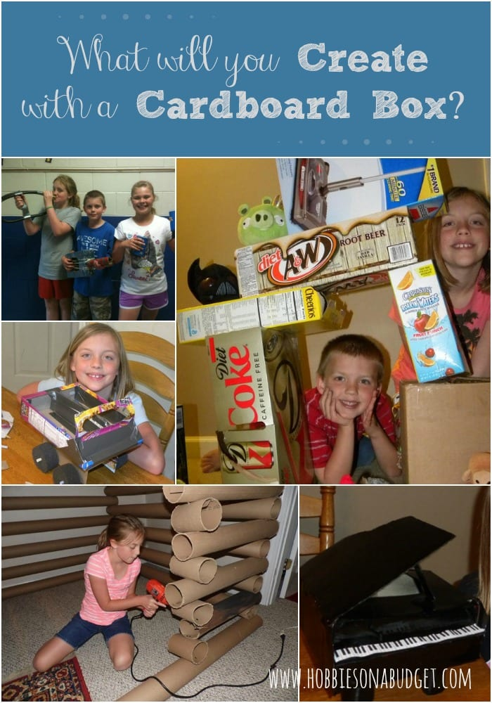 What will you create with a cardboard box?