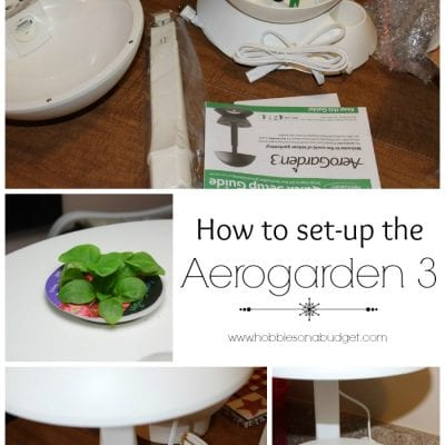 How to set up the Aerogarden 3