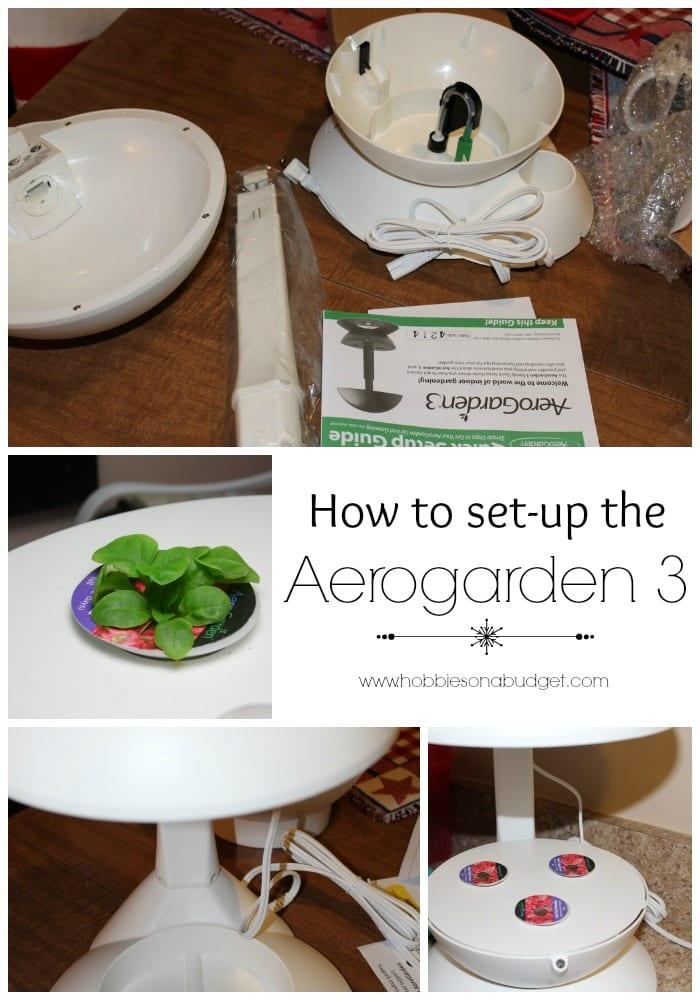 How to set up the Aerogarden 3