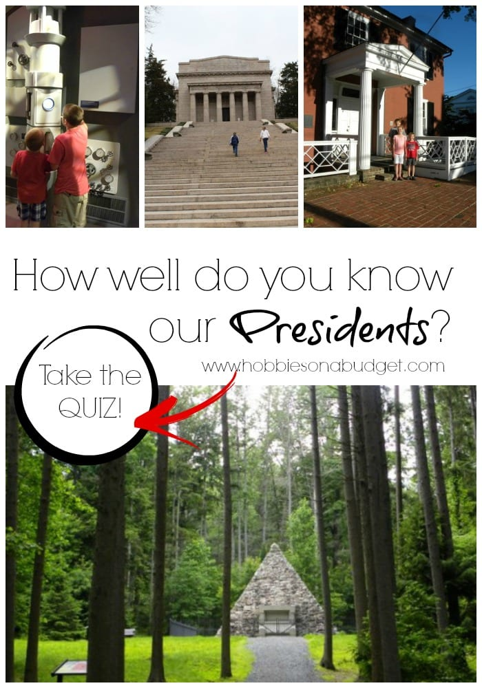 How well do you know our Presidents?