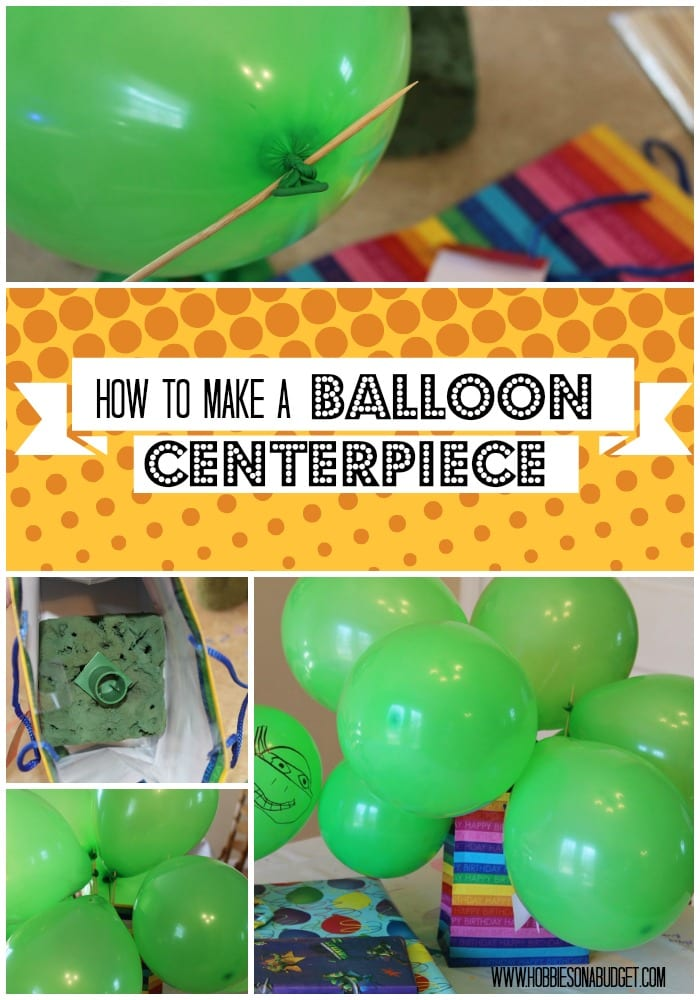 balloon centerpiece 2