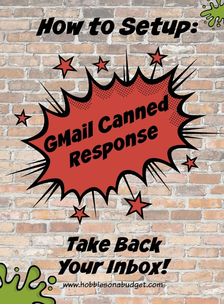 How to Set up a Gmail Canned Response