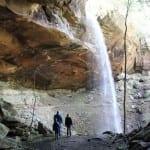 Yahoo Falls & Stone Arch:  Whitley City, Kentucky