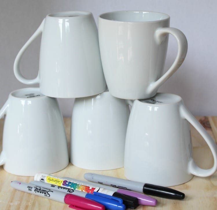 cups and markers
